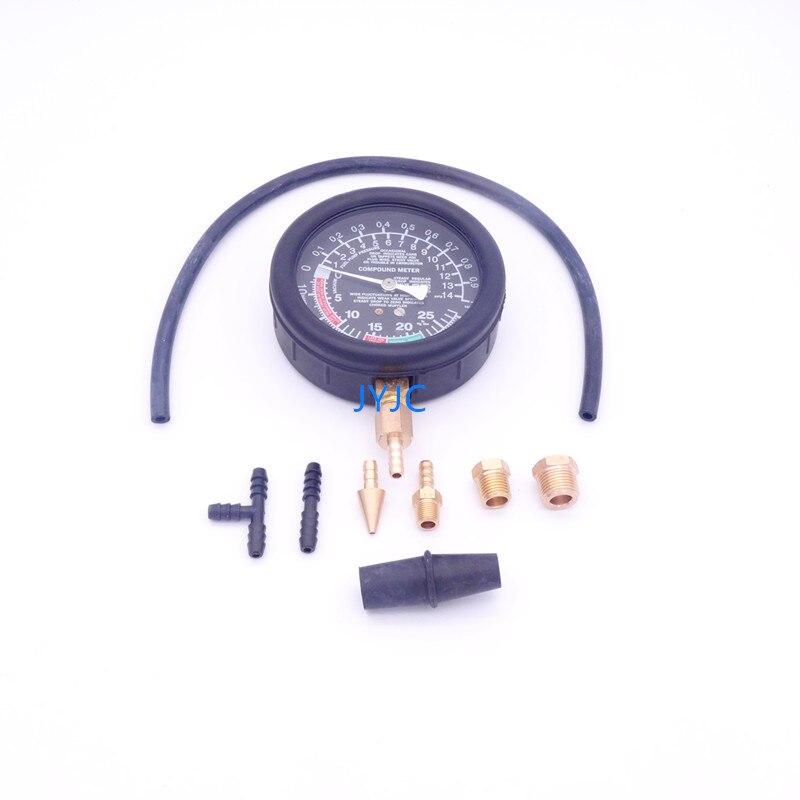 Image 2 - Automotive Engine Vacuum Gauge Intake Manifold Negative Pressure Detection Car Repair Diagnostic Tools TU 1-in Pressure & Vacuum Testers from Automobiles & Motorcycles