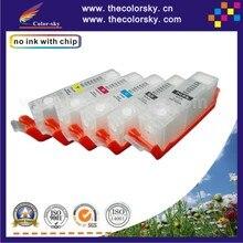(RCC250-5) многоразового картридж для Canon IP 7220 МГ 5520 5522 6320 7520 5420 6420 7120 5422 6620 MX 922 6820 PGI250 CLI251
