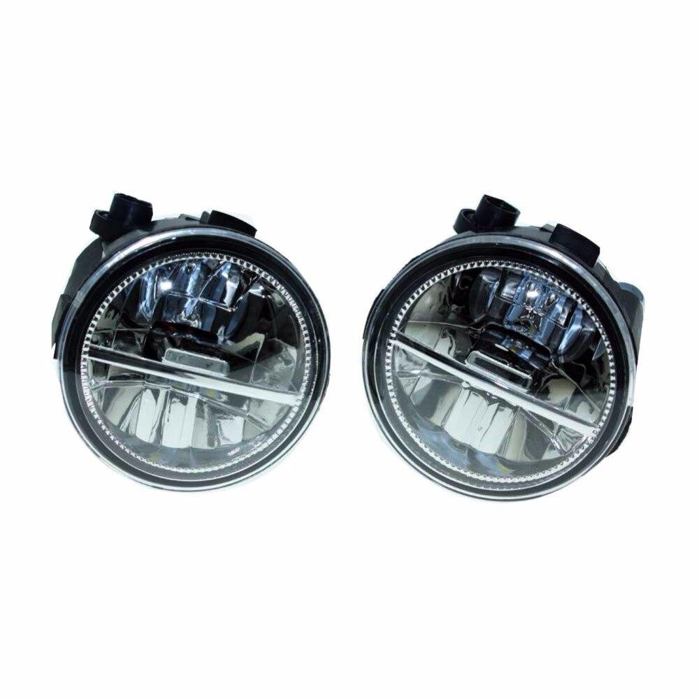 2шт для Ниссан Мурано Z51 закрытые Внедорожник передний Fumper 2007-2013 2014 светодиодные противотуманные огни автомобиля стайлинг ДХО Н11 светодиодные лампы