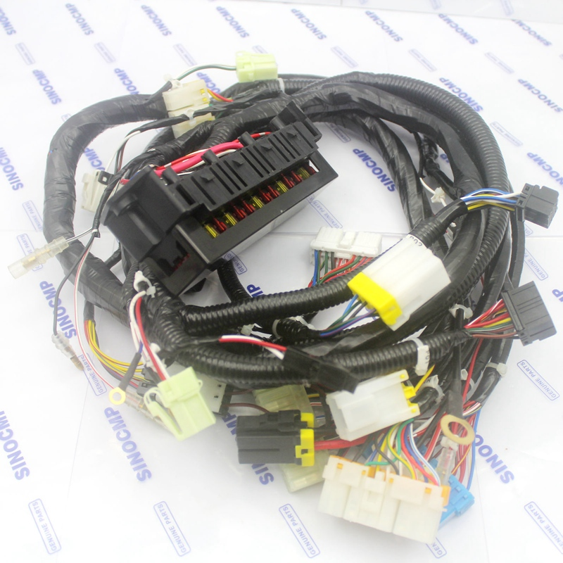 PC100-6 PC200-6 internal wiring harness 20Y-06-23980 inner inside cabin wire cable for Komatsu Excavator PC100-6 PC200-6 internal wiring harness 20Y-06-23980 inner inside cabin wire cable for Komatsu Excavator