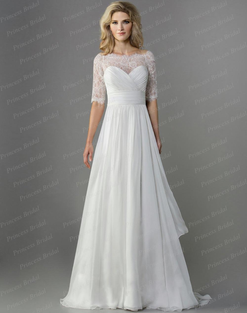 Top half lace wedding dress for Off the shoulder wedding dress topper