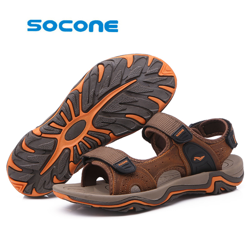 ФОТО Men's water sports shoes outdoor beach shoes cool shoes, wear-resistant camping fishing shoes