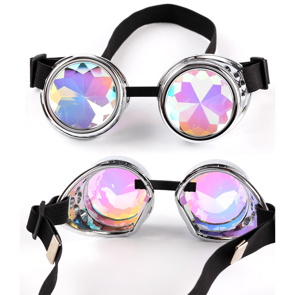 bc2a82e7d6 New Fashion Vintage Style Steampunk Goggles Welding Punk Gothic Colourful  Glasses Gothic Cosplay Men Women Cool Glasses Eyewear-in Sunglasses from  Apparel ...