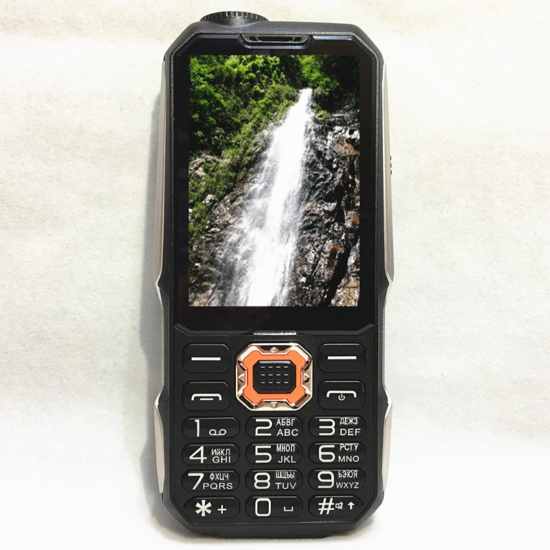 "original 3 sim power bank 2.8"" FM Rugged mobile phone cheap gsm Phone china cheap Cell Phones Russian keyboard button H-mobile"