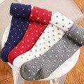 La primavera y el otoño de 100% algodón bebé caliente calcetines de bebé calcetines de bebé lindo bebé pantimedias,