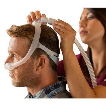 Máscara Nasal Dreamwear bajo la nariz, máscara Nasal antironquidos, máscara cómoda para dormir, aparato de respiración para las herramientas de Apnea del sueño