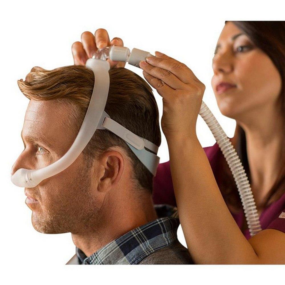 New Comfortable Dreamwear Nasal Mask Anti Snoring Sleep Mask Under Nose Nasal Mask Breathing Apparatus For Sleep Apnea