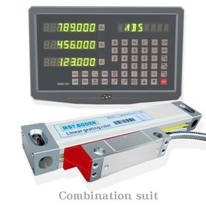 Image 1 - Fräsmaschine drehmaschine linear schneiden maschine digital display DRO linear optische herrscher gitter herrscher spezielle paket