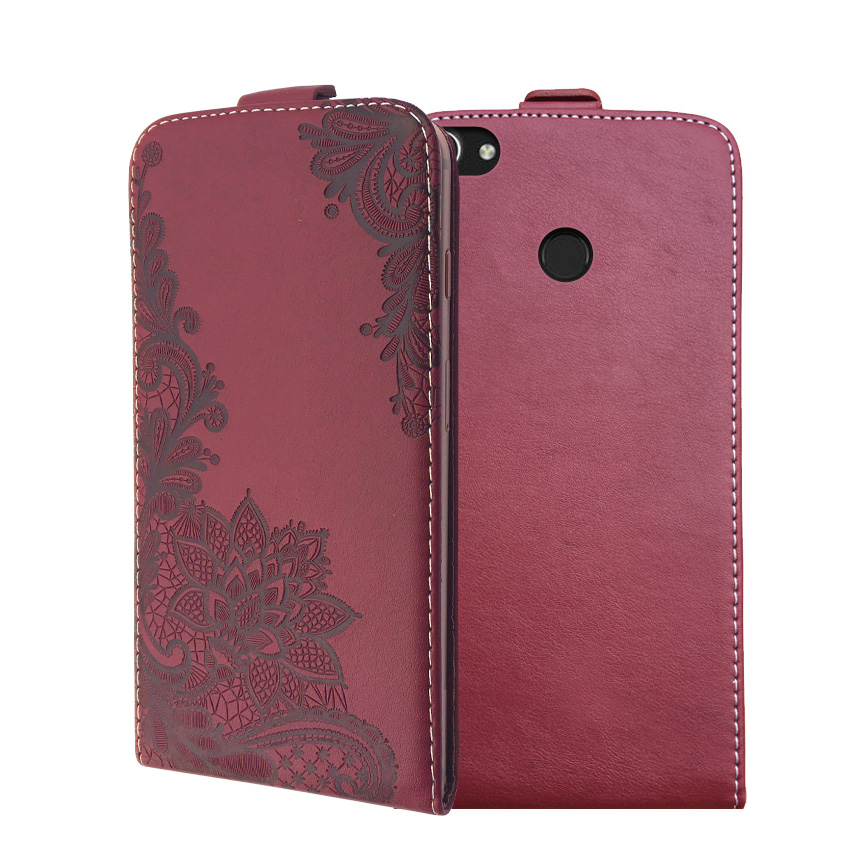 3D Stereo Embossing lace flower butterfly flip up and down leather phone bag cover case for Doopro <font><b>P2</b></font> Pro