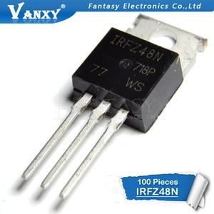 Image 2 - 100PCS IRFZ48N TO220 IRFZ48NPBF כדי 220 IRFZ48 חדש ומקורי IC