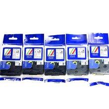 5 шт./лот, смешанный брат термоусадочная лента-картридж ленточного картриджа HSE-211 Hse-221 HSe-231 Hse-241 Hse-251 для метка кабеля p сенсорный экран