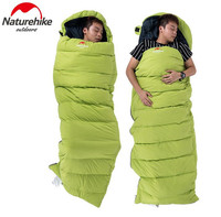 Naturehike Ultralight Envelop Sleeping Bag Portable Lightweight Outdoor Camping Hiking Travel UL Sleep Bag For Adults