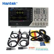Hantek osciloscopio Digital oficial DSO4254C, 4 canales, 250Mhz, LCD, PC, USB, portátil, EXT + DVM + Función de rango automático