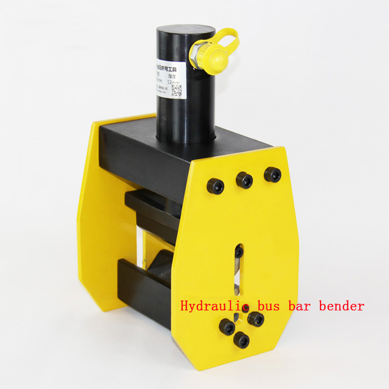 Hydraulic Busbar Bender Hydraulic Copper Busbar Bending Machine Busbar Bender Brass Bender Bending Tool CB-200A mk cwc 150v hydraulic busbar cutter hydraulic copper busbar cutting machine with 150 10mm copper and aluminum busbar