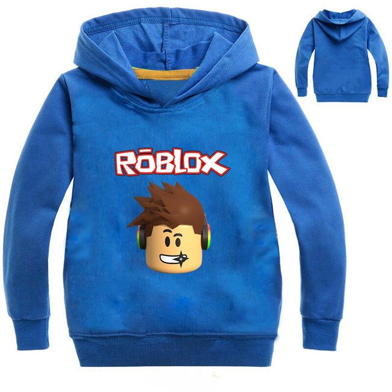 Niños niñas de dibujos animados de ROBLOX Deporte Sudaderas con capucha T camisa ropa de los niños de la escuela sudadera trajes de Ropa Camisetas