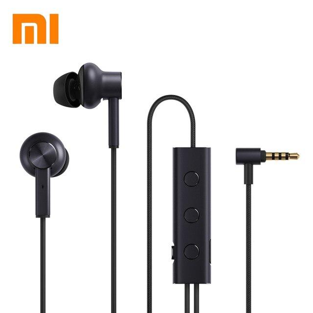 Xiaomi ANC Earphone MI Active Noise Cancelling Earphone In-Ear 3.5mm jack Interface +Mic + Volum Control for Xiaomi