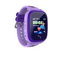2018 DF25 Relógio Inteligente Relógio À Prova D' Água Do Bebê Crianças GPS Smartwatch Chamada SOS Dispositivo de Localização Rastreador Crianças Seguro Anti-Lost Monitor de