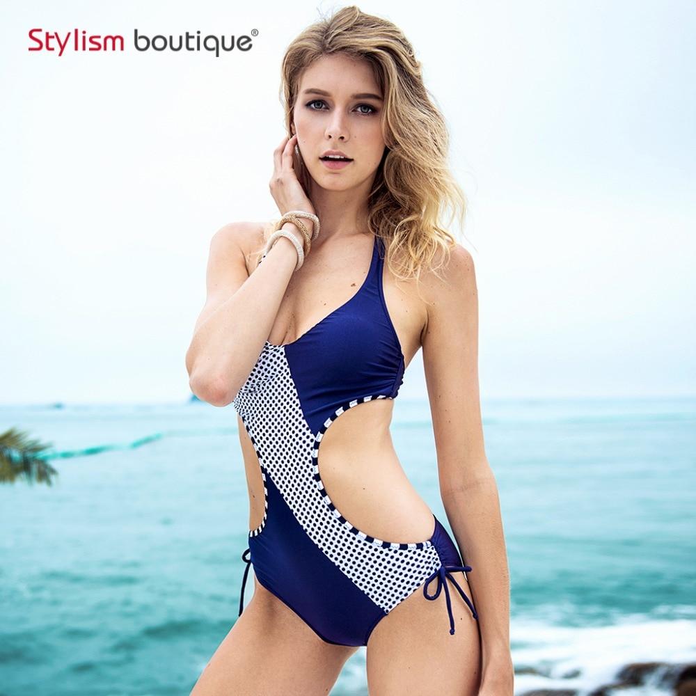 2018 Costume de baie noi pentru femei Costum de sexy dots Pachet de - Imbracaminte sport si accesorii