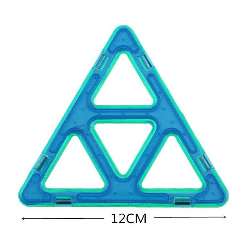 MylitDear 26Pcs Big Size Magnetic Murstein Square Triangle Parts - Bygg og teknikk leker - Bilde 5