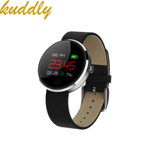 KUDDLE DM78 shenzhen Smart Watch Rannekoru Verenpaine Sykemittari IP68 vedenpitävä Soita muistutus Activity Tracker