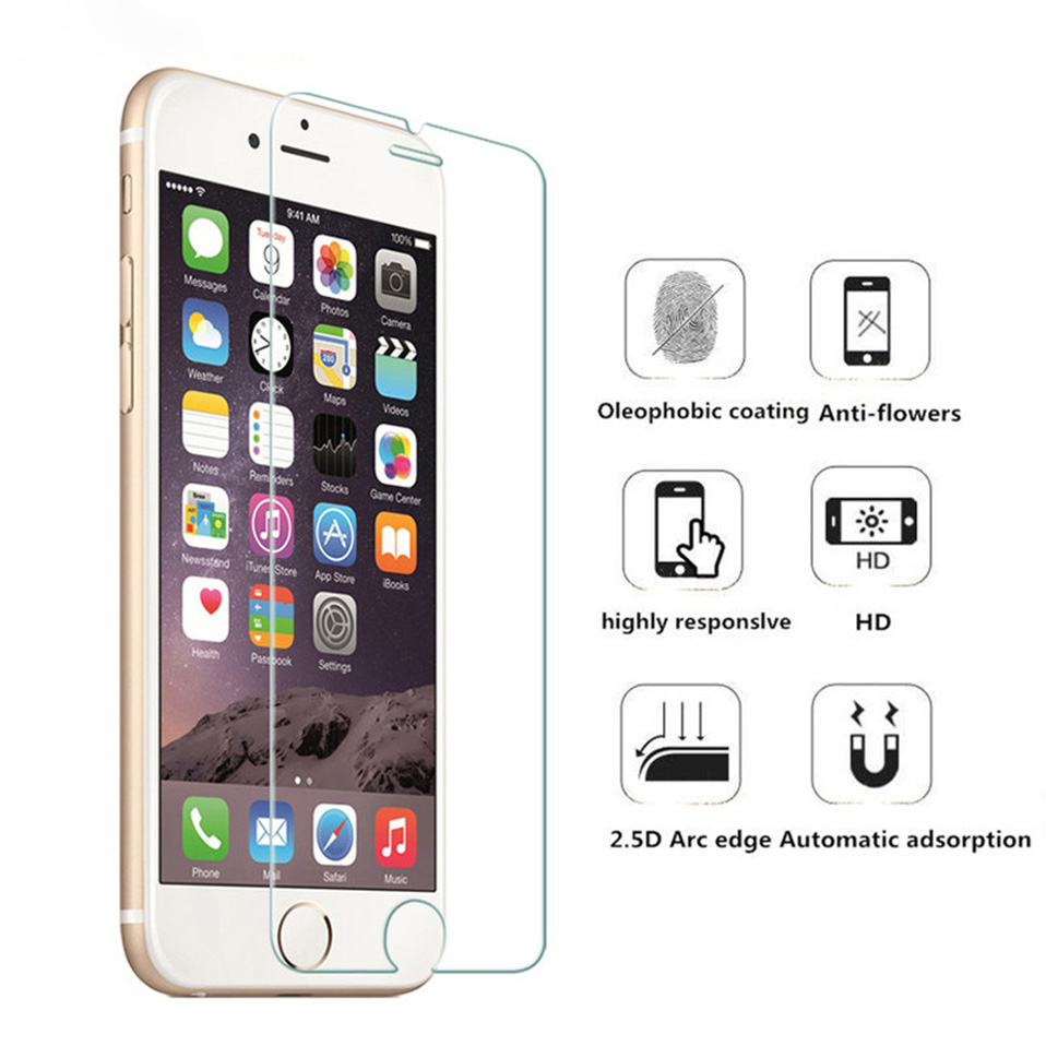 iphone 5 5s se screen protectors protective film  tempered glass (1)