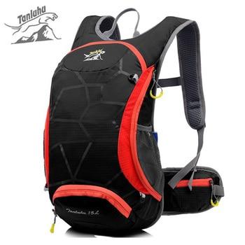 d1db8932591b TANLUHU бренд 15L Спорт на открытом воздухе велосипедный рюкзак для женщин  мужчин 2L воды мешок водостойкие Mountain велосипедный рюкзак сумки для бе.
