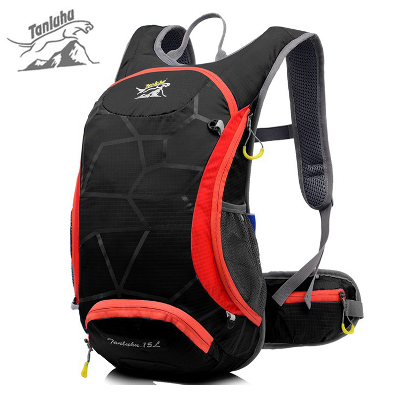TANLUHU Brand 15L Outdoor Sports Bicycle Backpack Women Men 2L Water Bag Waterpr