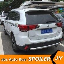 Для Mitsubishi Outlander спойлер 2013- Outlander спойлер высокого качества ABS Материал заднее крыло автомобиля праймер цвет задний спойлер