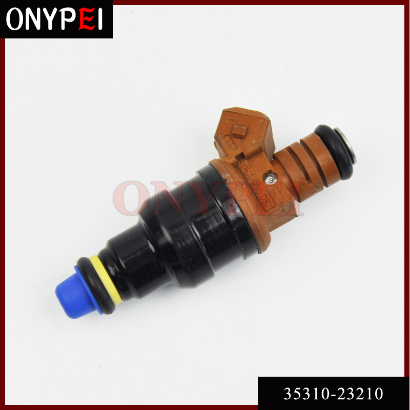 Genuine Set Of 4 fuel injectors for Hyundai Tiburon Elantra 2.0L 35310-23210