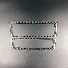 Интерьер автомобиля CD Панель панель кондиционера отделочный стикер углеродного волокна крышка Украшение для Audi A4 B8 A5 2010-2016 аксессуары