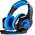Ovann Game Earphone Headset Computer Stereo Gaming Headphones  Best casque Deep Bass   with Mic LED Light for PC Gamer
