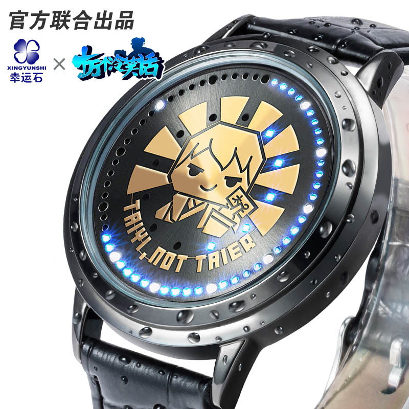 100000 Bad Jokes anime U17 LED water proof touch screen watch comics cartoon