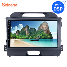 Seicane Android 8.1 9″ Head Unit For 2010 2011 2012 2013-2015 KIA Sportage Radio Audio Car GPS Multimedia Player 2DIN With DSP