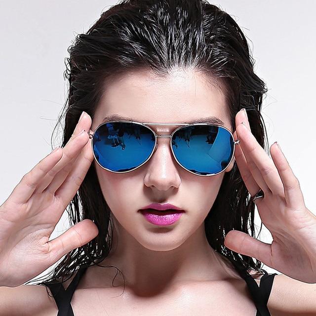 e819e6e47b IVE Hot Sales Fashion Star Sunglasses Oculos De Sol Women Men Polarized  Aviator Mirrored Lens UV Protection Sun Glasses 3027P