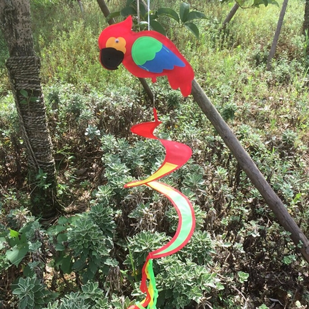 2017 animal spiral windmill colorful wind spinner lawn for Lawn garden accessories