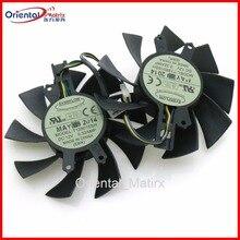Free Shipping T128015SH 75mm 49*46*17mm 0.32AMP 4Pin For Galaxy GTX1060 gtx960 GTX950 Graphics Video Card VGA Fan цена
