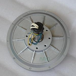 Image 2 - 500W 150 200 350RPM 24 48 96VDC verticale windturbine permanente magneet dynamo coreless huishoudelijke DIY generator motor