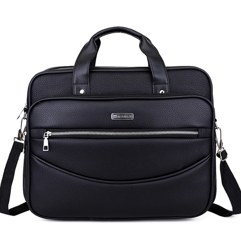 Leather Men Casual Briefcase Handbags Male Crossbody Bag For Men's Travel Bags Laptop Business Big Bags Shoulder Purses XA187ZC