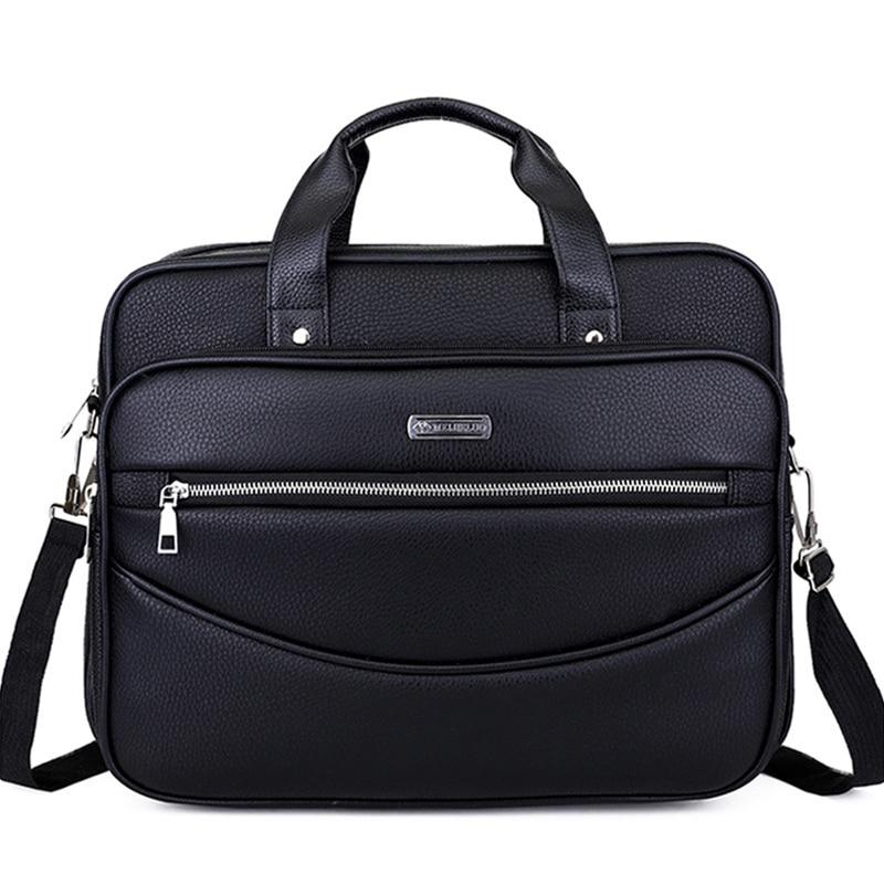 Leder Männer Casual Aktentasche Handtaschen Männliche Umhängetasche Für Männer Reisetaschen Laptop Business Big Bags Schulter Geldbörsen Xa187zc Eine VollstäNdige Palette Von Spezifikationen Aktentaschen