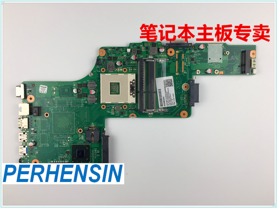 V000275410 FOR Toshiba FOR Satellite C850 C855 L850 L855 HM76 Motherboard 100% WORK PERFECTLY sheli new h000038420 laptop motherboard for toshiba satellite c850 c855 l850 l855 plf plr csf csr hm76 hd 7610m main board works