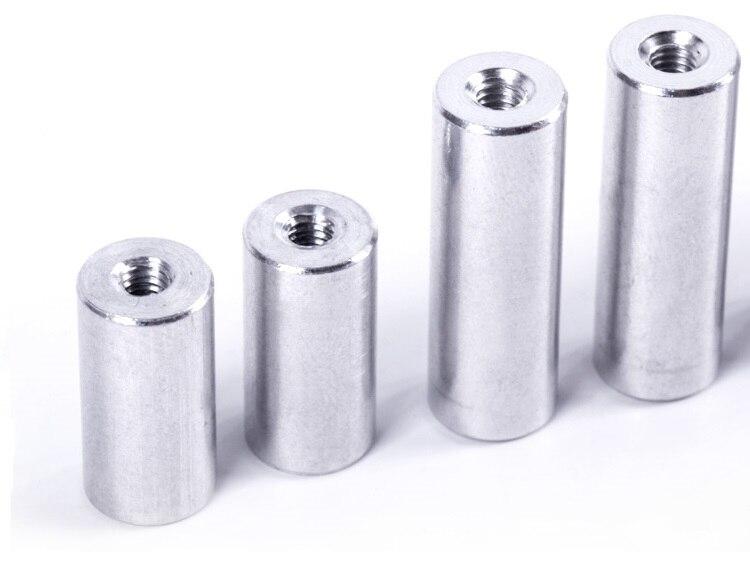 Goed 20 Stks Ronde Aluminium Staven Dia.8 * M5 * 10/12/15/20/25/30 /35/40/50/60/80mm Aluminium Standoff Spacer Afstand Schroeven Voor Rc Onderdelen