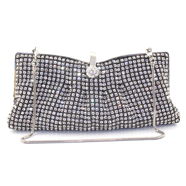 Black Crystal Evening Clutches Metal Evening Bag for Lady Party Prom Soiree Purse diamond Wedding bag(6080-BG) silver metal lady fashion evening bag silver stylish day clutches prom ladies handbag yls g74