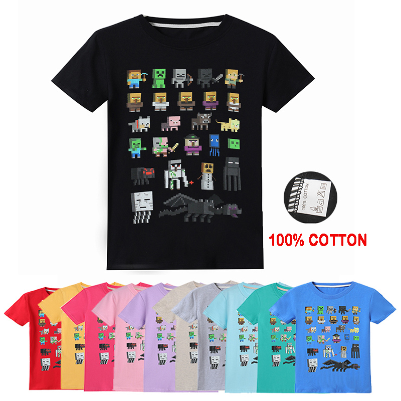Top 8 Most Popular Boys Minecraft T Shirt Ideas And Get Free