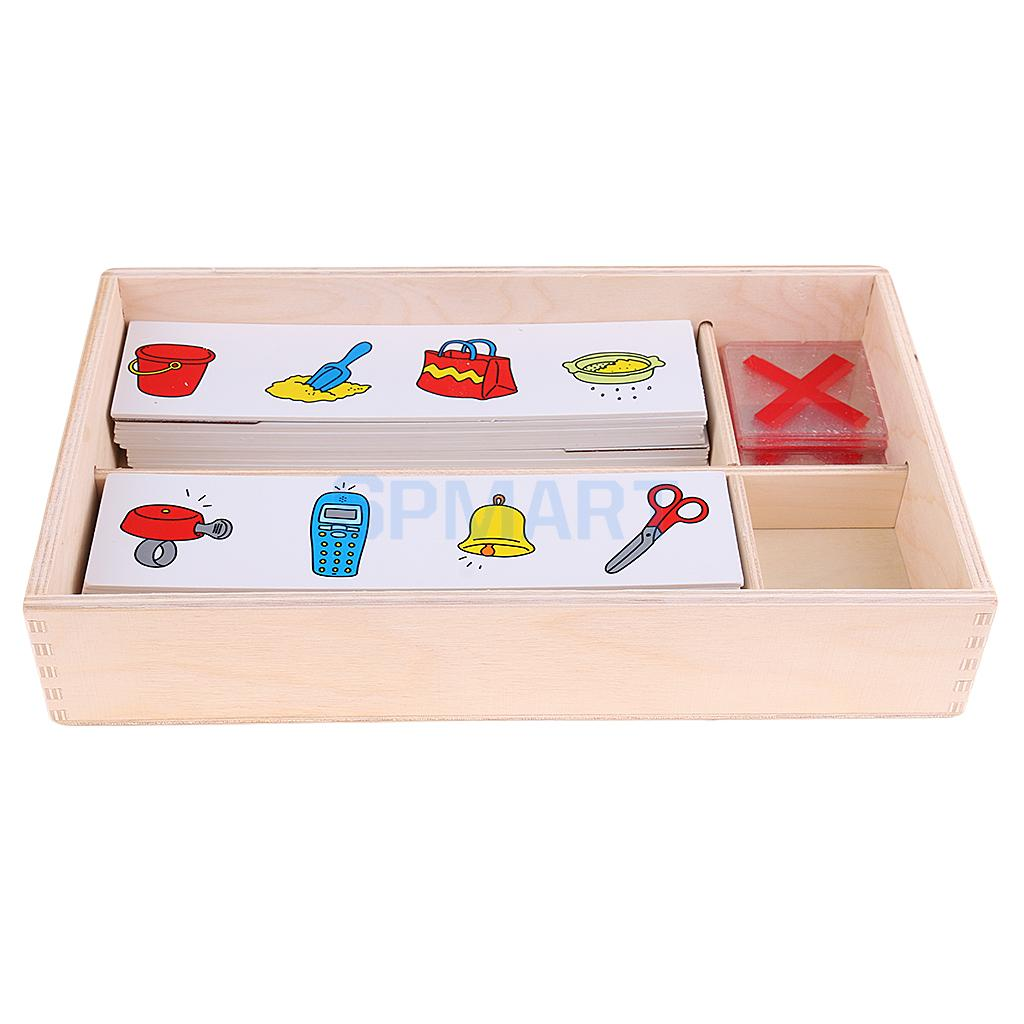 Kids Logical TRaining Cards Preschool Training Learning Educational Toys - Search Wrong