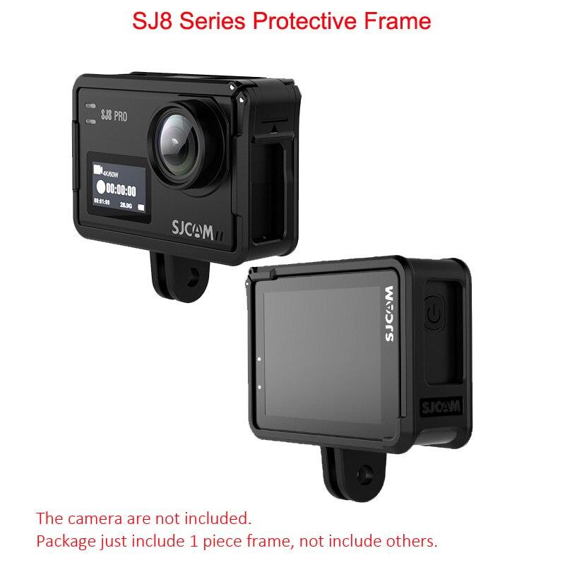 SJCAM SJ8 Protective Case SJ8 PRO Frame Holder for SJ8 Series 4K Sports Video CamcorderSJCAM SJ8 Protective Case SJ8 PRO Frame Holder for SJ8 Series 4K Sports Video Camcorder