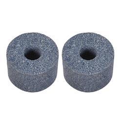 Uxcell 2 cale/2.4 cala/3 cale/4 cale Cylinder ściernice 80 Grits 60 Grits szlifowanie powierzchni ceramiczne narzędzia do polerowanie metalu