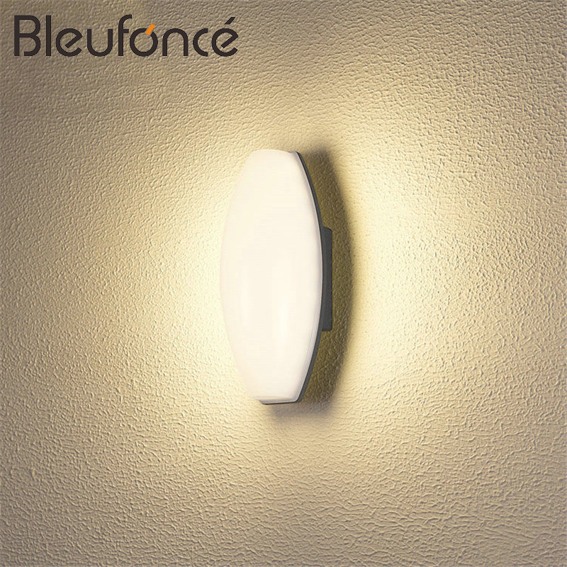 Outdoor Waterproof Wall lamp Porch Garden Lights Aluminum LED Waterproof Decorative Lighting Wall Sconce Modern Wall Lamps BL62 modern simple creativeoutdoor led wall lamp waterproof aluminum porch lights for garden corridor decorative wall lights