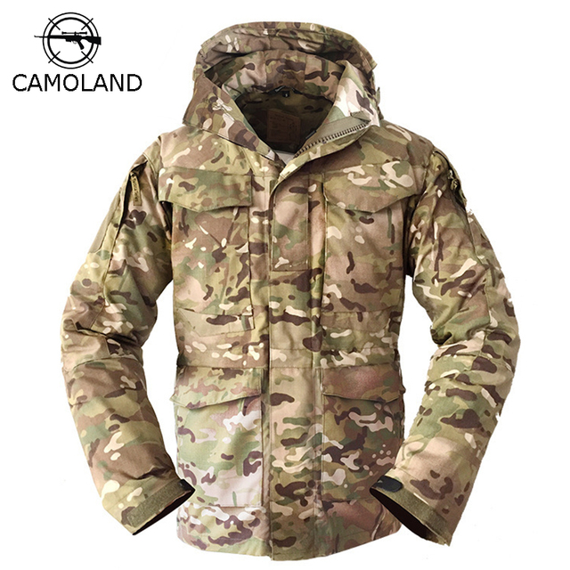 2018 NEW Tactical Jacket Men M65 Coat Male Parka Winter Windbreaker  Military Clothes US Army Field Combat Jacket Male Clothing 292e51646bd