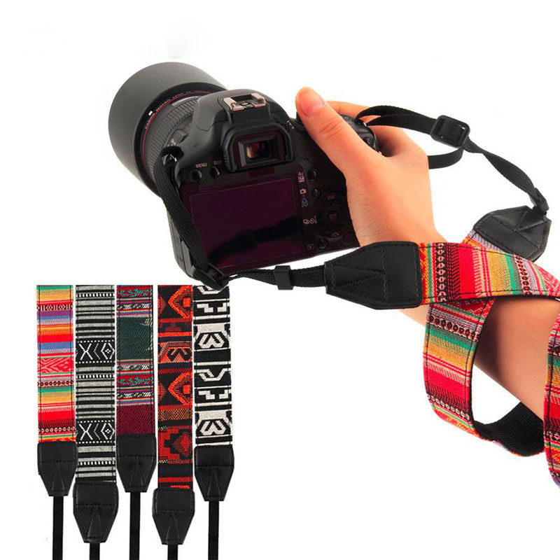 Camera Shoulder Neck Strap Vintage Belt for Sony for Nikon for Canon for Pentax DSLR Camera Shoulder Neck Wrist Strap Universal