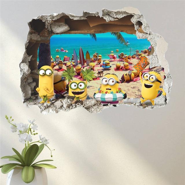 3D Minion Wall Stickers 6